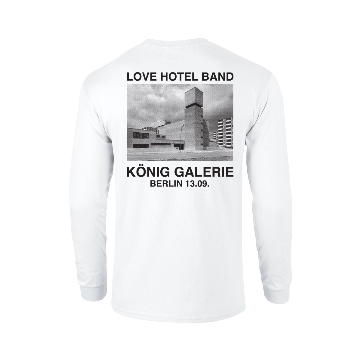 Love Hotel Band König Longsleeve Longsleeve, White